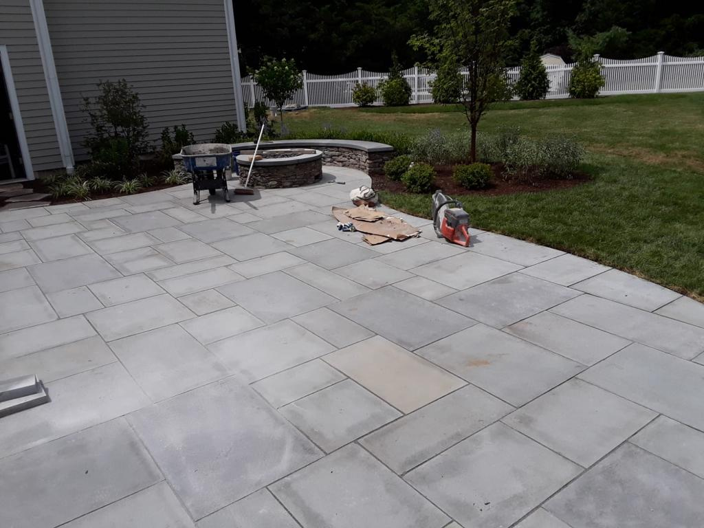 beautiful Pation done by Quincy Concrete Services