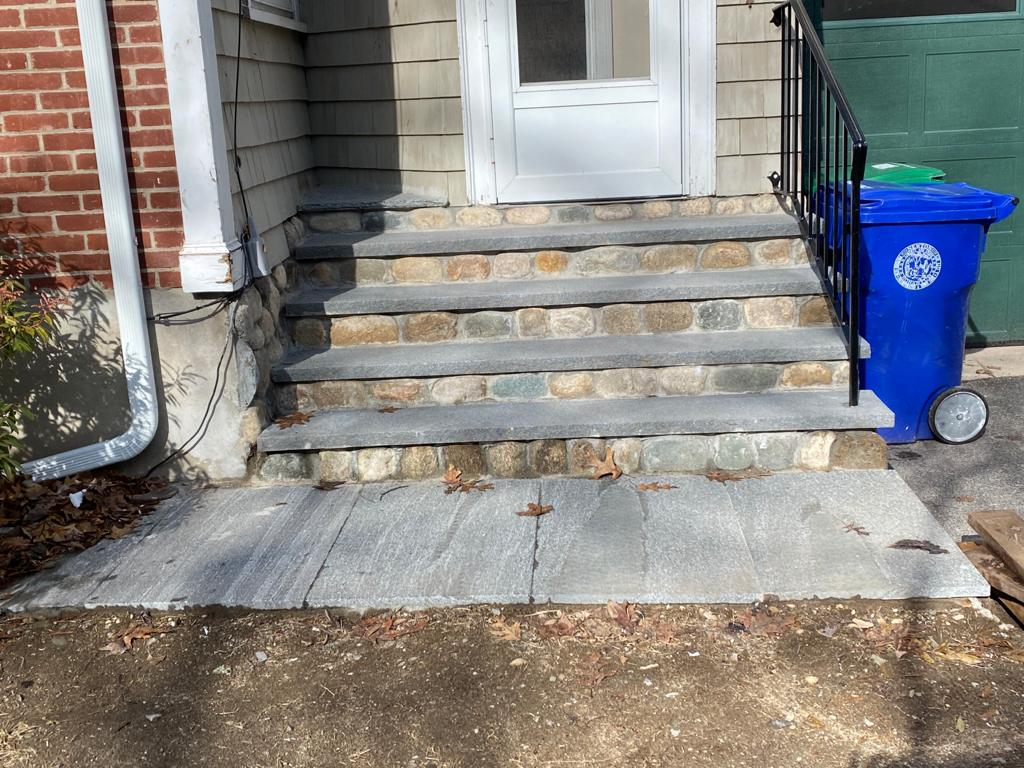 Quincy Masonry Stairs